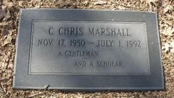 Chris Marshall grave