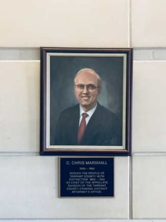 Chris Marshall memorial