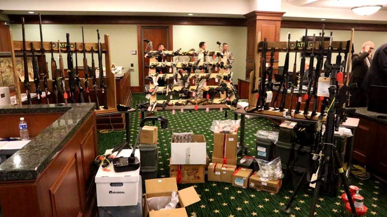 weapons stockpile