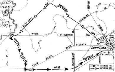 jfk-fort-worth-motorcade-map